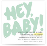 Minted Hey Baby! Baby Shower Invitations
