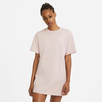 Nike Cotton Mini T-Shirt Dress
