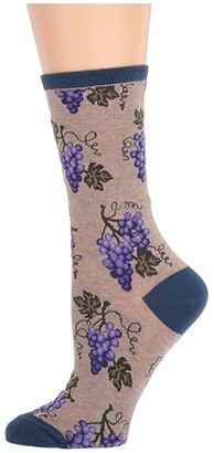 Socksmith One Fine Vine (Hemp Heather) Women's Crew Cut Socks Shoes