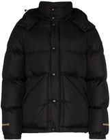 Woolrich x Mastermind Japan padded bomber jacket