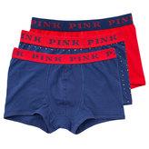 Thomas Pink Fleet Jersey Boxer Shorts Pack Of 3