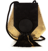 Saint Laurent Opium 3 classic leather and suede shoulder bag