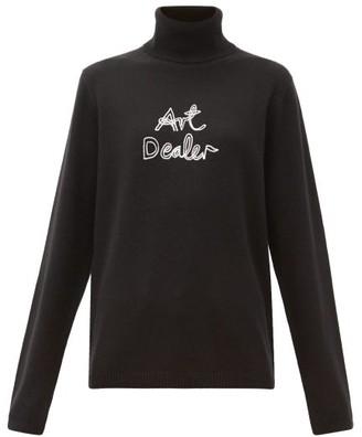 Bella Freud Art Dealer Roll-neck Cashmere Sweater - Womens - Black