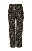 Alexis Mabille Floral Straight Leg Trousers