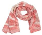 St. John Women's Knit Plaid Scarf