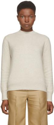 LOULOU STUDIO Beige Wool Cavallo Sweater