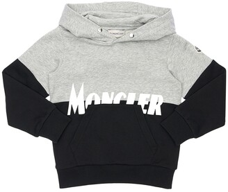 Moncler Color Block Cotton Sweatshirt Hoodie