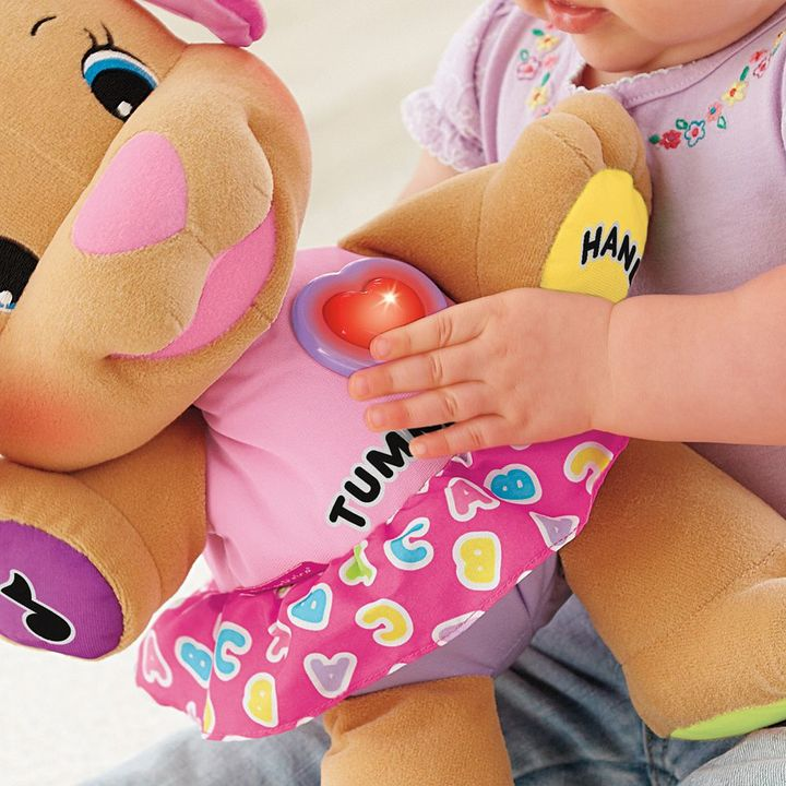 Fisher-Price laugh & learn love to play sis