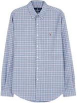 Polo Ralph Lauren Checked Slim Stretch Cotton Oxford Shirt