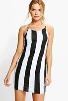 Boohoo Rosie Strappy Bodycon Dress