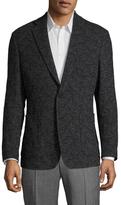 Billy Reid Rustin Wool Jacquard Sportcoat