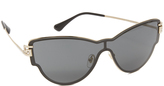 Versace Greca Strass All Lens Sunglasses