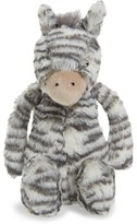 Jellycat Infant Medium Bashful Zebra Stuffed Animal