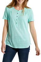 White Stuff Violetta Jersey Shirt, Green