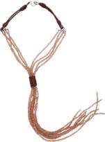 Brunello Cucinelli Quartz Tassel Necklace