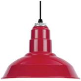 Warehouse Baselite Pendant, Red