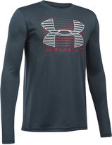 Under Armour Boys' Breakthrough Logo Long Sleeve T-Shirt