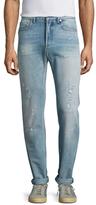 Christian Dior Distressed Slim Fit Jeans
