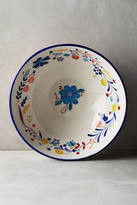 Anthropologie Bonnieux Serving Bowl