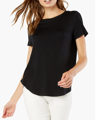 Madewell Beyond Yoga Featherweight Spacedye On The Down Low Tee