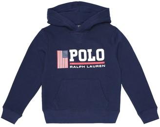 Polo Ralph Lauren Kids Logo cotton-blend hoodie