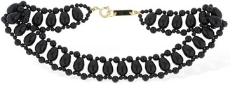 Isabel Marant Malawi Beaded Choker Necklace