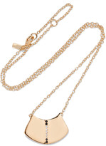Elizabeth and James Paxton gold-tone crystal necklace
