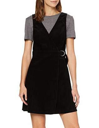 New Look Women's BCI 8W Cord WRAP Pinny Dress,(Size:)