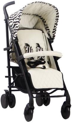 """My Babiie MAWMA Nicole """"Snooki"""" Polizzi MB51 Zebra Stroller"""