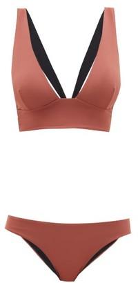 Haight Marsalla Tie-back Bikini - Brown