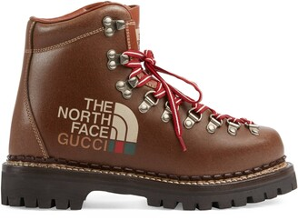 Gucci The North Face x women's ankle boot