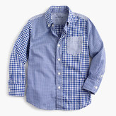 J.Crew Kids' Secret Wash shirt in mash-up