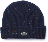 Penfield Harris Navy Fleck Knitted Beanie