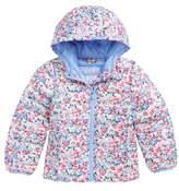Joules Toddler Girl's Print Packaway Hooded Jacket