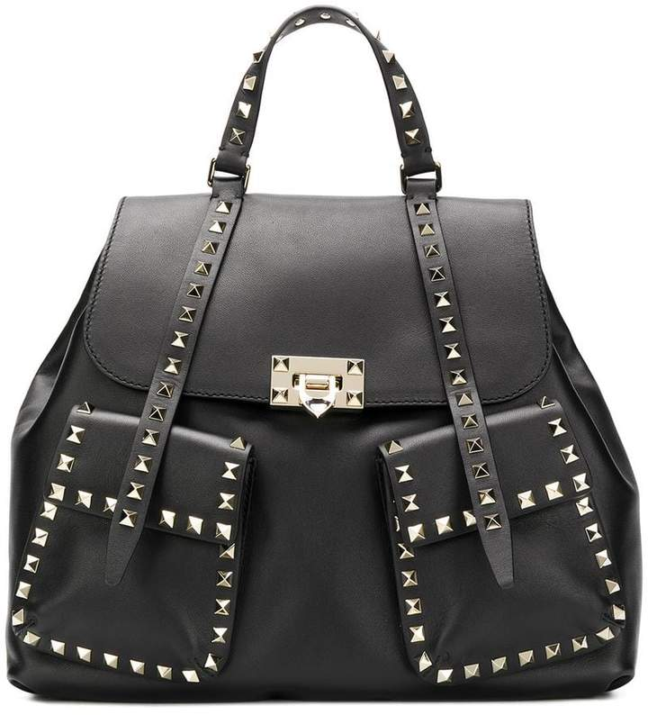 Valentino Rockstud Rolling Guitar backpack