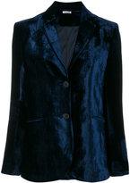 P.A.R.O.S.H. velvet blazer