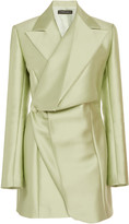 Y/Project Satin Mini Blazer Dress