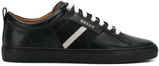 Bally Contrast Lace-Up Sneakers