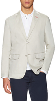 Victorinox Linen Notch Lapel Coat