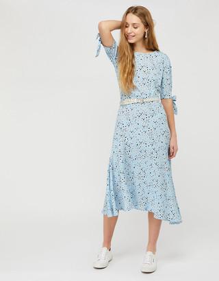 Under Armour Miyah Daisy Print Dress with LENZING ECOVERO Blue