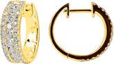 FINE JEWELRY LIMITED QUANTITIES 1 CT. T.W. Diamond Hoop Earrings