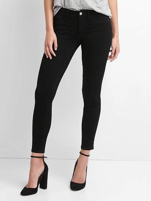 a6556284ad Black Ankle Jeggings - ShopStyle