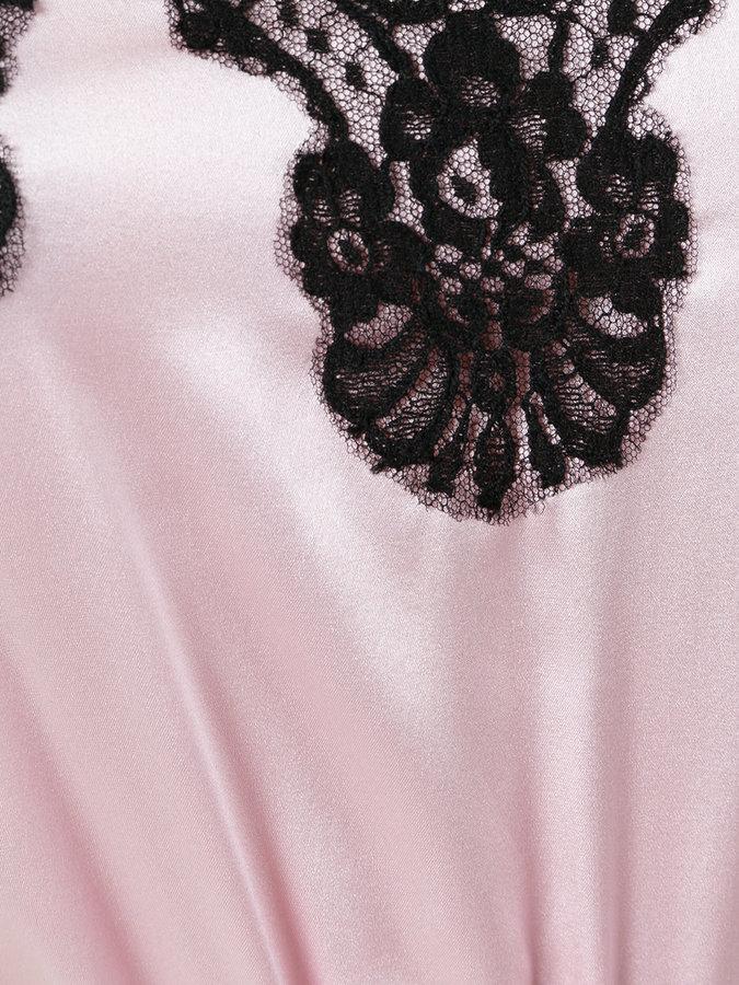Dolce & Gabbana lace detail camisole