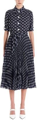 Prada Belted Midi Dress