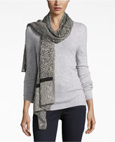 MICHAEL Michael Kors Norfolk Desert Tweed Oblong Scarf