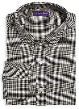 778b92625ebc44 Ralph Lauren Purple Label Men's Glen Check Shirt
