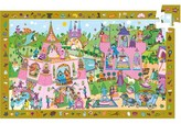 Djeco Girl's Observation Puzzles Princess 54-Piece Puzzle