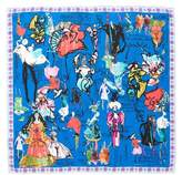 Christian Lacroix Croquis Silk Square Scarf