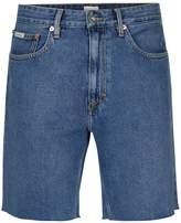 Calvin Klein Blue Denim 90's Shorts