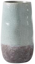 Torre & Tagus Corsica Crackle 2-Tone Vase